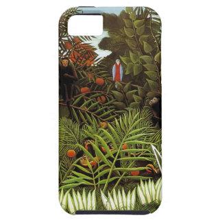 Rousseau.  Jungle.  Monkeys. iPhone 5 Cases