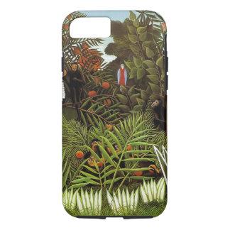 Rousseau. Jungle. Monkeys. iPhone 7 Case