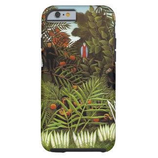 Rousseau. Jungle. Monkeys. Tough iPhone 6 Case
