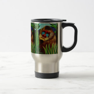 Rousseau - Mandril in the Jungle (Adaptation) Stainless Steel Travel Mug