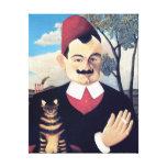 Rousseau - Portrait of Pierre Loti Gallery Wrap Canvas