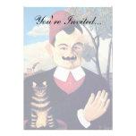 Rousseau - Portrait of Pierre Loti Custom Invite