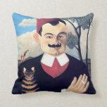 Rousseau - Portrait of Pierre Loti Pillows