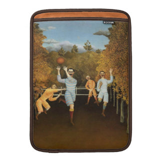 Rousseau's Football Players 132 MacBook sleeve