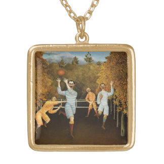 Rousseau's Football Players necklace