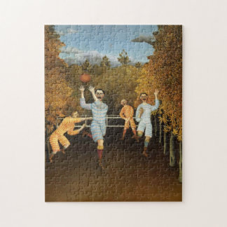 Rousseau's Football Players puzzle