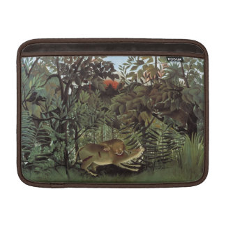 """Rousseau's Hungry Lion 13"""" MacBook sleeve"""