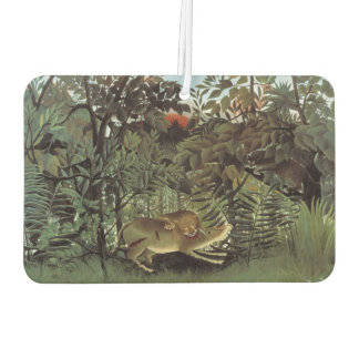 Rousseau's Hungry Lion art air freshner