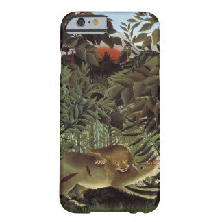 Rousseau's Hungry Lion art phone cases