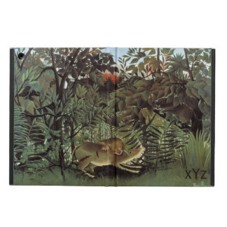 Rousseau's Hungry Lion custom cases iPad Air Covers