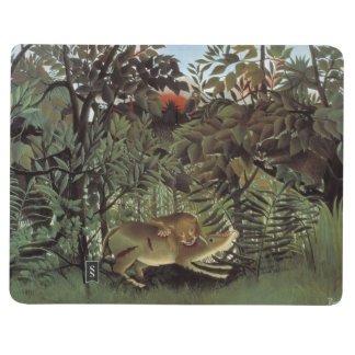 Rousseau's Hungry Lion pocket journal