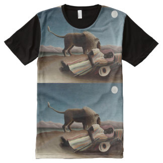 Rousseau's Sleeping Gypsy art t-shirt All-Over Print T-Shirt