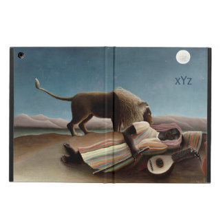 Rousseau's Sleeping Gypsy cases Cover For iPad Air