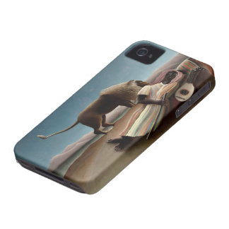 Rousseau's Sleeping Gypsy iPhone case