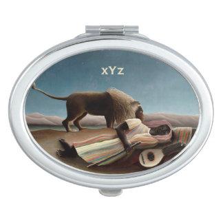 Rousseau's Sleeping Gypsy pocket mirror Vanity Mirrors