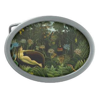 "Rousseau's ""The Dream"" belt buckle"