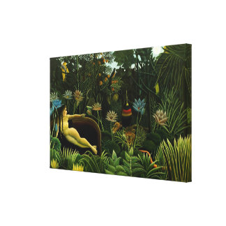 """Rousseau's """"The Dream"""" canvas print"""