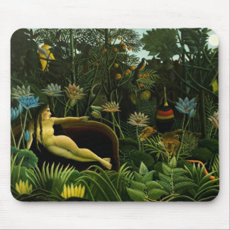 "Rousseau's ""The Dream"" mousepad"