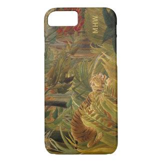 Rousseau's Tiger Art custom monogram phone cases