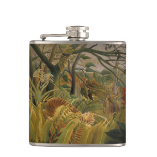 Rousseau's Tiger art flask