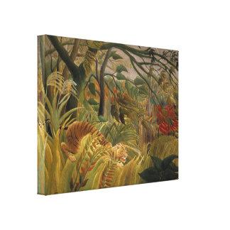 Rousseau's Tiger canvas print