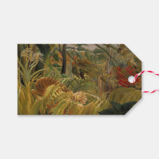 Rousseau's Tiger custom gift tags