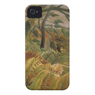 Rousseau's Tiger iPhone case