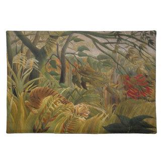 Rousseau's Tiger placemat