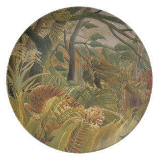 Rousseau's Tiger plate