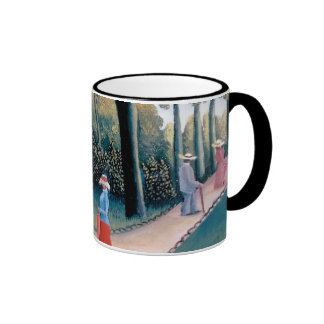 Rousseau - The Luxembourg Gardens Ringer Mug