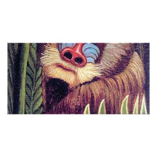 "Rousseau's ""Mandrill in the Jungle"" (circa 1909) Photo Cards"