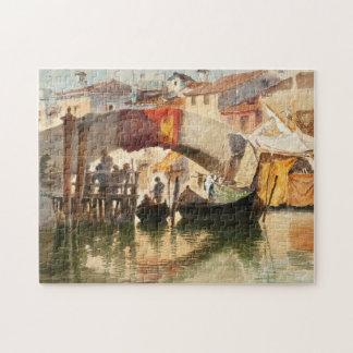 Roussoff's Venice art puzzle
