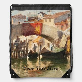 Roussoff's Venice custom backpack