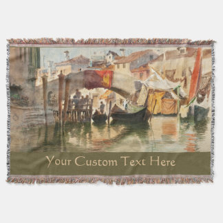 Roussoff's Venice custom throw blanket