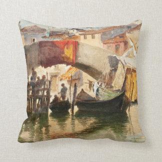 Roussoff's Venice throw pillow