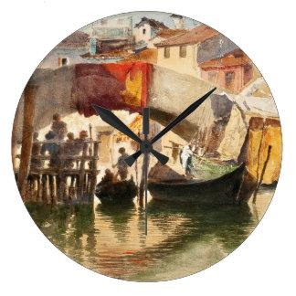 Roussoff's Venice wall clock