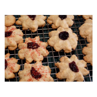 Rout Biscuits Cookie Recipe Post Card