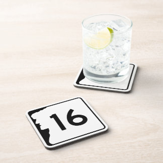 Route 16 New Hampshire USA Drink Coaster