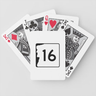 Route 16 New Hampshire USA Poker Deck