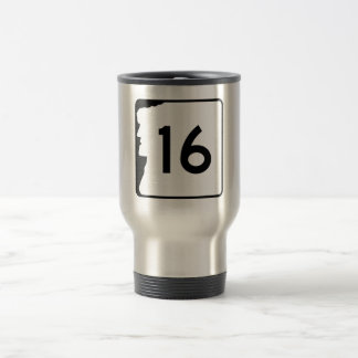 Route 16, New Hampshire, USA Stainless Steel Travel Mug