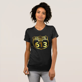 Route 613 - Women's Gold T-Shirt