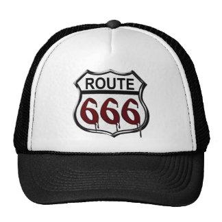 Route 666 hats
