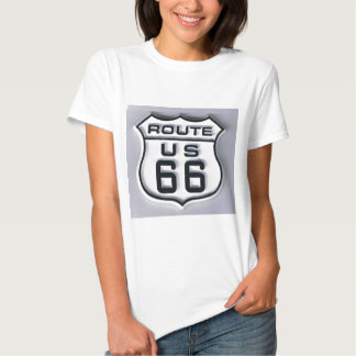 Route 66 3-D looking Tshirts