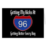 Route 66 96th Birthday Greeting Card