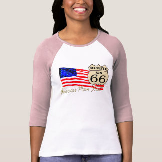 Route 66 - America's Main Street T-Shirt