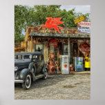 Route 66 Arizona rustic retro store Posters