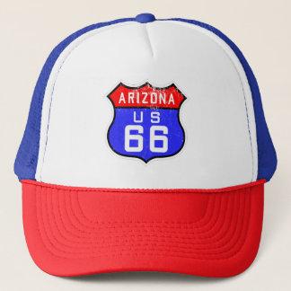Route 66 Arizona US Design Trucker's Hat