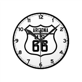 Route 66 - Arizona Wall Clock