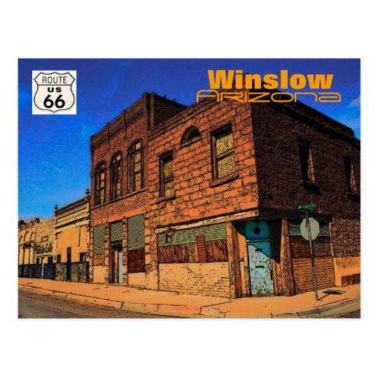 Route 66 (AZ) Postcard