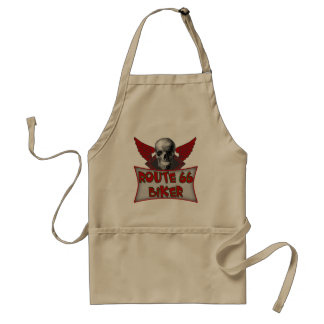 Route 66 Biker T-shirts and Gifts Adult Apron